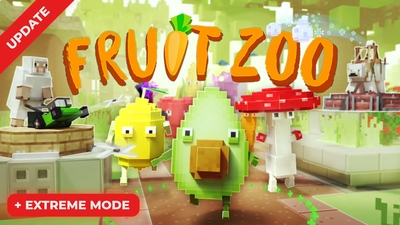 Fruit Zoo  Tower Defense on the Minecraft Marketplace by Panascais