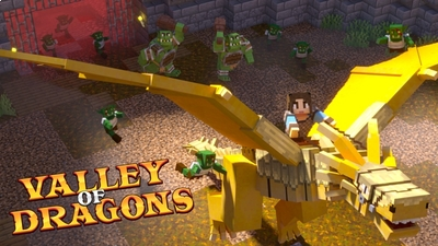 Valley of Dragons on the Minecraft Marketplace by Fall Studios
