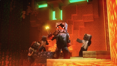 Desert Temple Adventure on the Minecraft Marketplace by Chunklabs