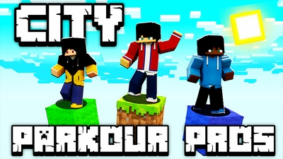 City Parkour Pros on the Minecraft Marketplace by Pickaxe Studios