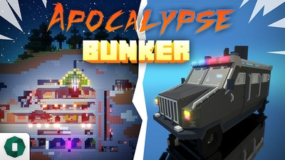 Apocalypse Bunker on the Minecraft Marketplace by Octovon