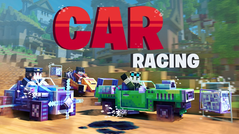 Car Racing on the Minecraft Marketplace by BBB Studios