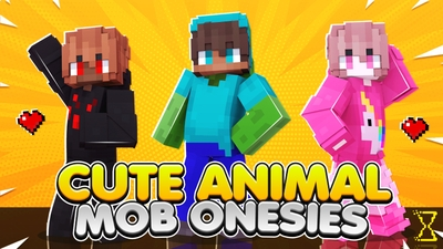 Cute Animal Mob Onesies on the Minecraft Marketplace by Hourglass Studios