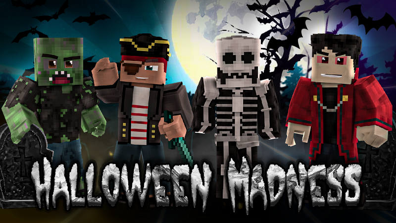 Halloween Madness on the Minecraft Marketplace by BLOCKLAB Studios