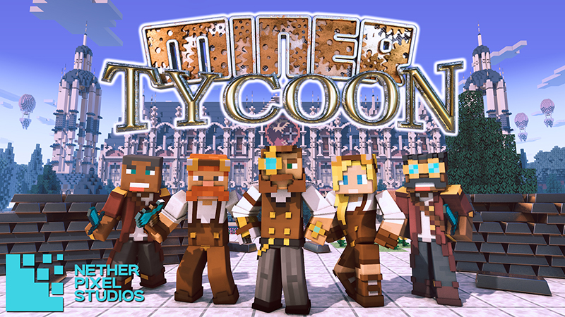 Miner Tycoon on the Minecraft Marketplace by Netherpixel