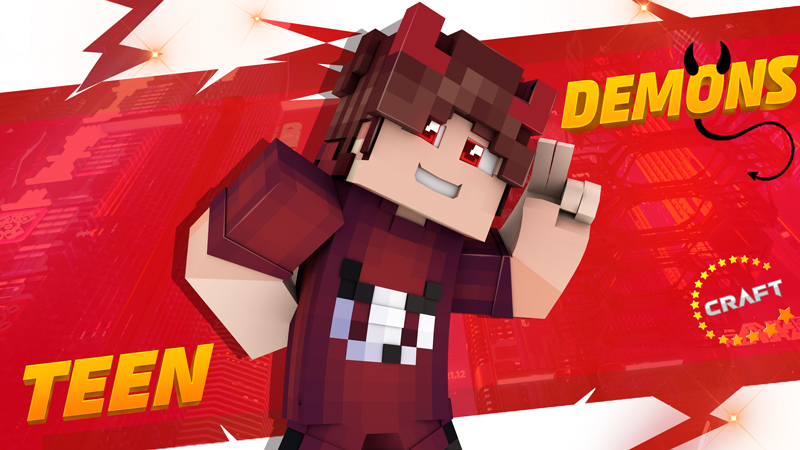 Teen Demons on the Minecraft Marketplace by The Craft Stars