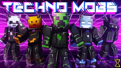 Techno Mobs on the Minecraft Marketplace by Hourglass Studios
