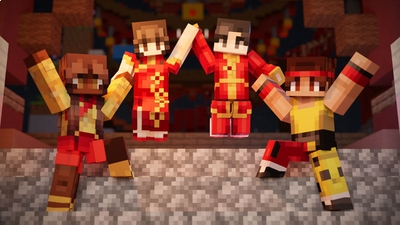 Lunar Festivities on the Minecraft Marketplace by CubeCraft Games
