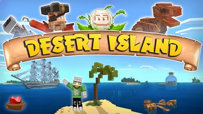 Desert Island on the Minecraft Marketplace by Lifeboat