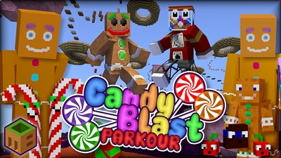 Candy Blast Parkour on the Minecraft Marketplace by MobBlocks