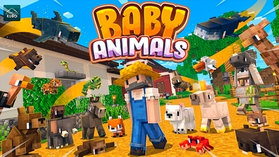 Baby Animals on the Minecraft Marketplace by Kubo Studios