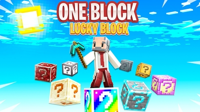 One Block Lucky Block on the Minecraft Marketplace by Kubo Studios