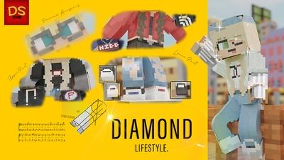 Diamond Lifestyle on the Minecraft Marketplace by Netherpixel
