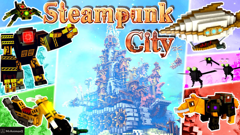 Steampunk City on the Minecraft Marketplace by MrAniman2
