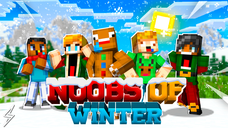 Noobs Of Winter on the Minecraft Marketplace by Senior Studios