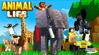 Animal Life on the Minecraft Marketplace by Pathway Studios
