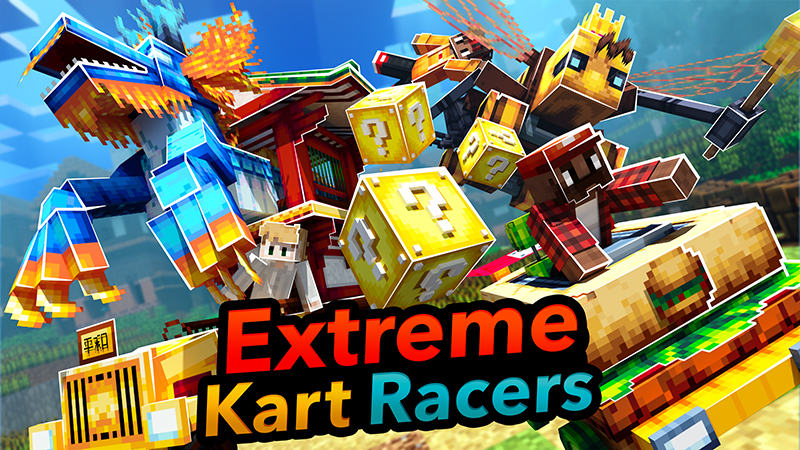 Extreme Kart Racers on the Minecraft Marketplace by Minetite