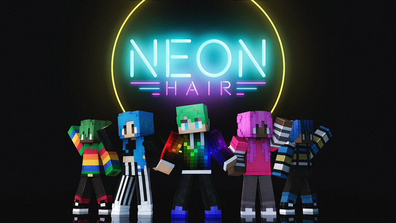 Neon Hair on the Minecraft Marketplace by Blockception