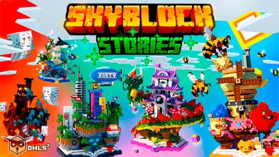 Skyblock Stories on the Minecraft Marketplace by Owls Cubed