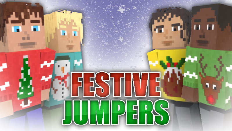 Festive Jumpers on the Minecraft Marketplace by CompyCraft