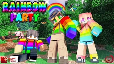 Rainbow Party on the Minecraft Marketplace by Netherpixel