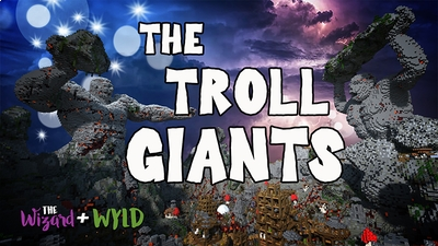 The Troll Giants on the Minecraft Marketplace by The Wizard and Wyld
