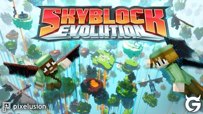Skyblock Evolution on the Minecraft Marketplace by Pixelusion