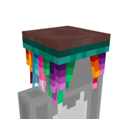 Rainbow Hair on the Minecraft Marketplace by Glorious Studio