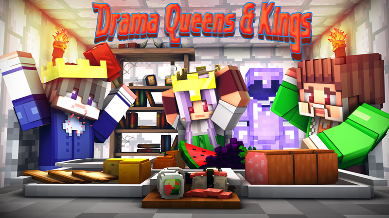 Drama Queens  Kings on the Minecraft Marketplace by Dark Lab Creations