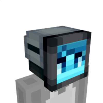 Digiface  Blue on the Minecraft Marketplace by Razzleberries
