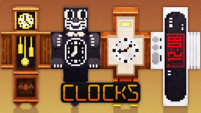 Clocks on the Minecraft Marketplace by 57Digital