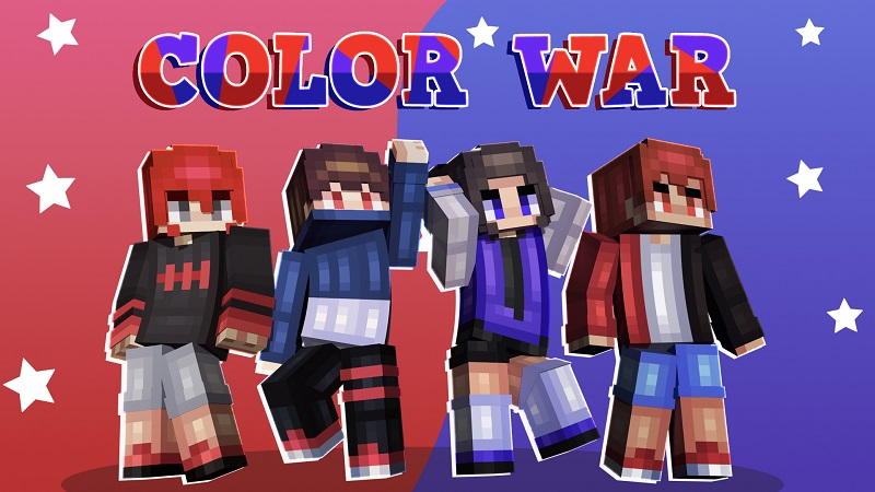 Color War on the Minecraft Marketplace by Nitric Concepts