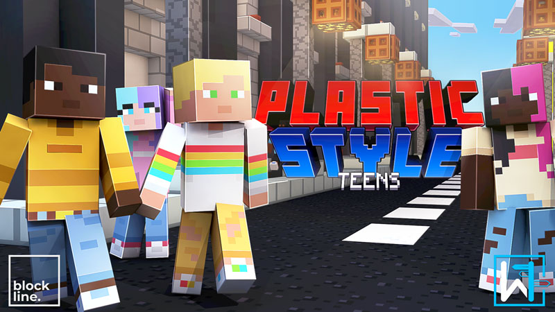 Plastic Style Teens on the Minecraft Marketplace by Waypoint Studios