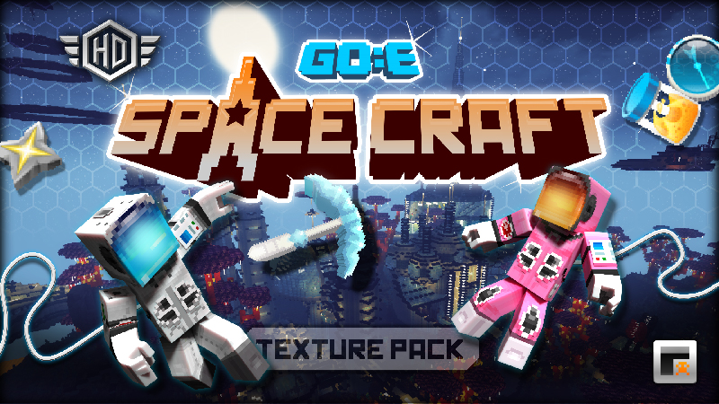 Space Craft on the Minecraft Marketplace by GoE-Craft