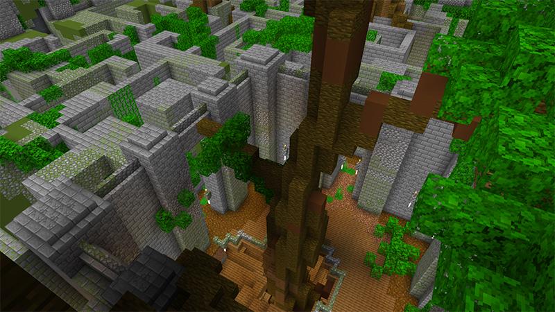 Jungle Maze by Diluvian