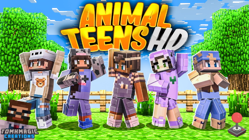 Animal Teens HD on the Minecraft Marketplace by Tomhmagic Creations