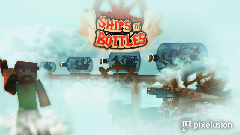 Ships in Bottles on the Minecraft Marketplace by Pixelusion