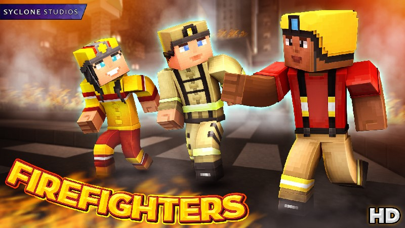 Firefighters HD on the Minecraft Marketplace by Syclone Studios