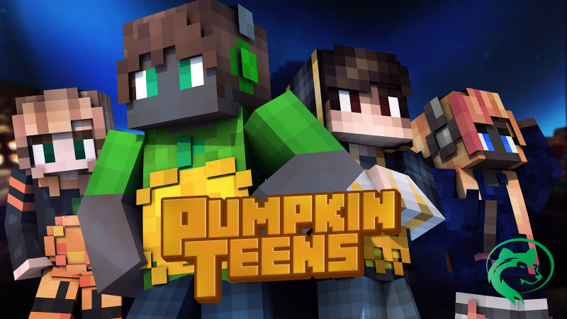 Pumpkin Teens on the Minecraft Marketplace by BLOCKLAB Studios