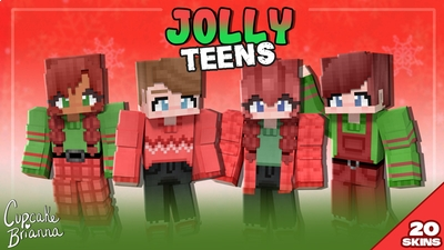 Jolly Teens HD Skin Pack on the Minecraft Marketplace by CupcakeBrianna