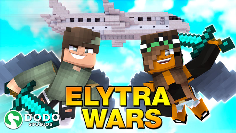 Elytra Wars Battle Royale on the Minecraft Marketplace by Dodo Studios