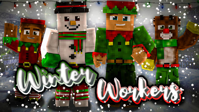 Winter Workers on the Minecraft Marketplace by BLOCKLAB Studios