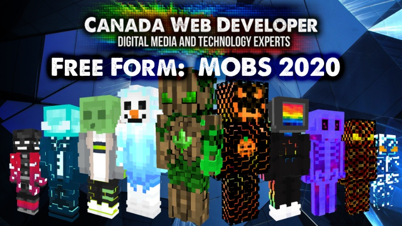 Free Form  MOBS 2020 on the Minecraft Marketplace by CanadaWebDeveloper
