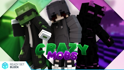 Crazy Mobs on the Minecraft Marketplace by Ready, Set, Block!