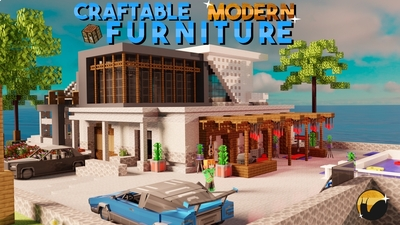 Craftable Modern Furniture on the Minecraft Marketplace by Snail Studios