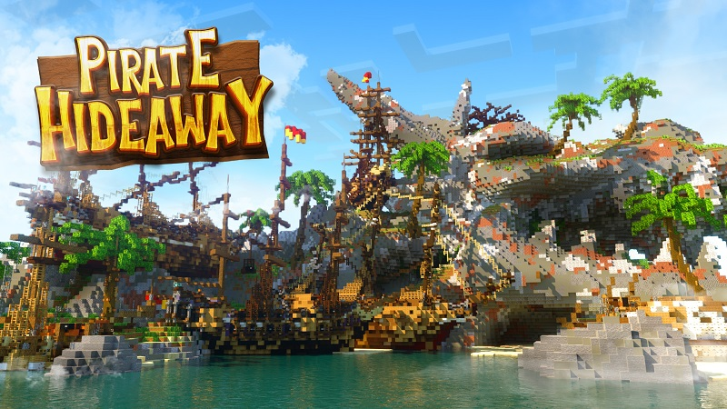 Pirate Hideaway on the Minecraft Marketplace by Nitric Concepts