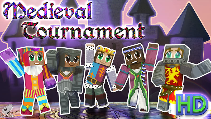 Medieval Tournament HD on the Minecraft Marketplace by Appacado