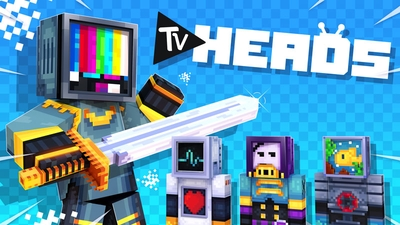 TV Heads HD on the Minecraft Marketplace by Ninja Squirrel Gaming