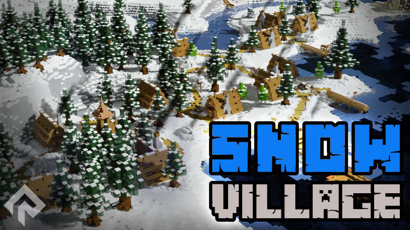 Snow Village on the Minecraft Marketplace by RareLoot