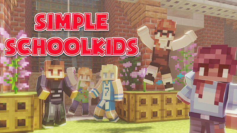 Simple Schoolkids on the Minecraft Marketplace by Cynosia